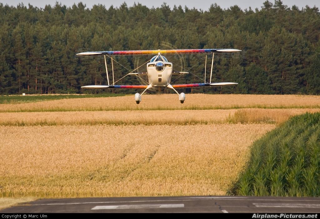 Private N81JR aircraft at Schwabach