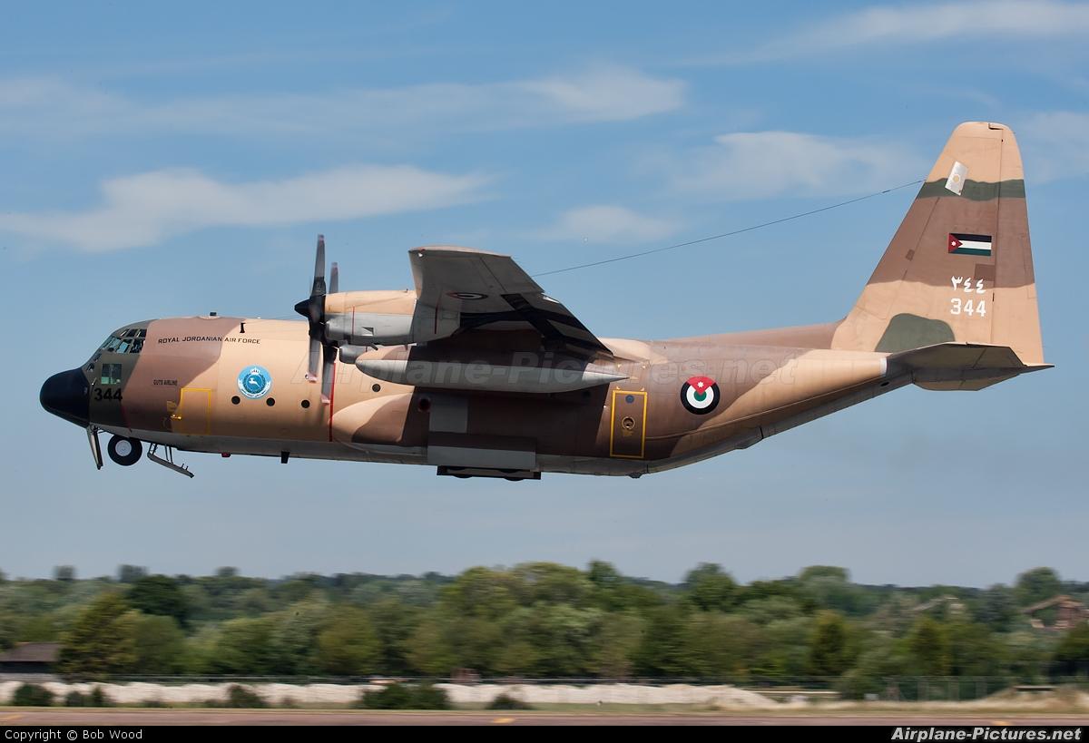 Jordan - Air Force 344 aircraft at Fairford