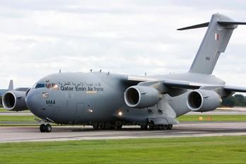 A7-MAA - Qatar Amiri - Air Force Boeing C-17A Globemaster III