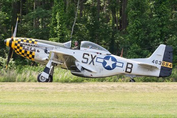 N51EA - Private North American P-51D Mustang