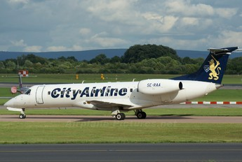 SE-RAA - City Airline Embraer ERJ-135