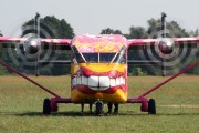 OE-FDN - Pink Aviation Short SC.7 Skyvan aircraft