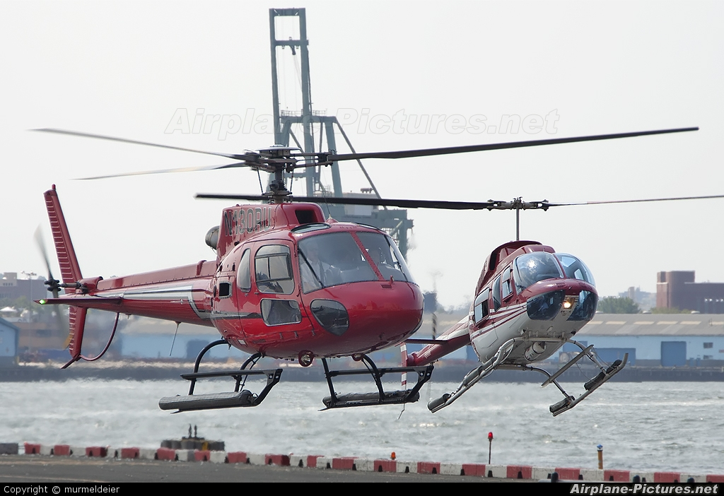 Liberty Helicopters N130RU aircraft at New York - Port Authority Downtown Manhattan / Wall Street Heliport