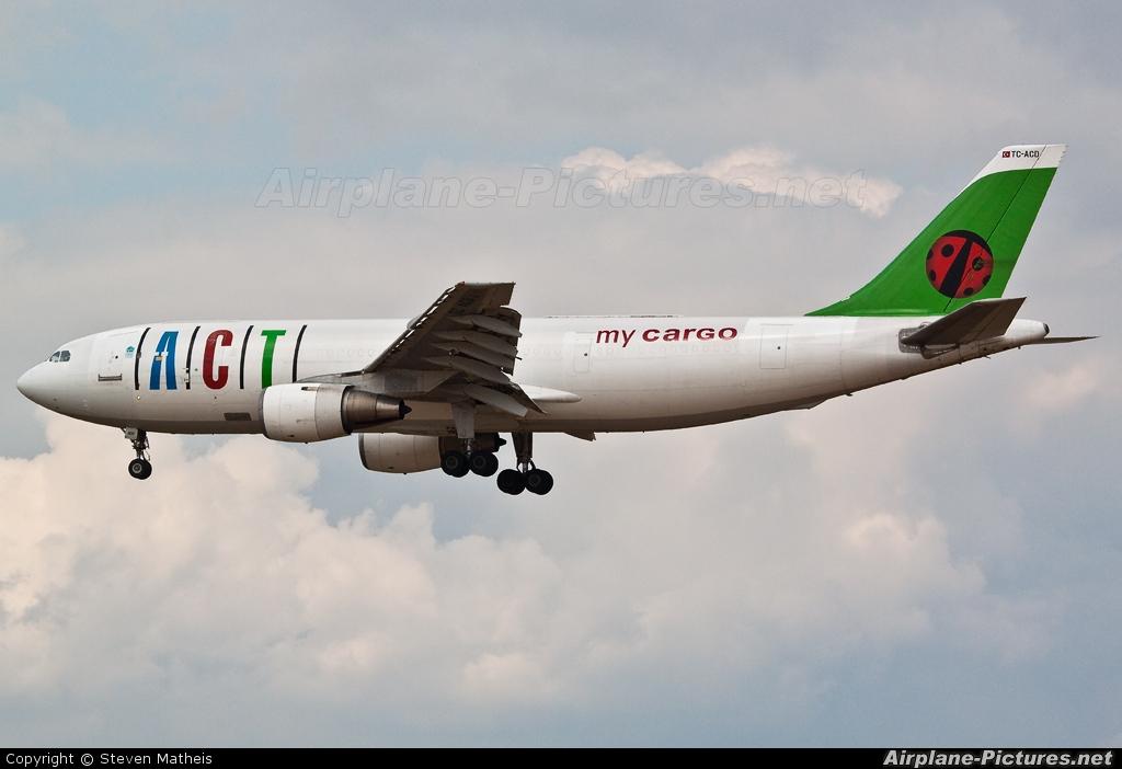 ACT Cargo TC-ACD aircraft at Frankfurt