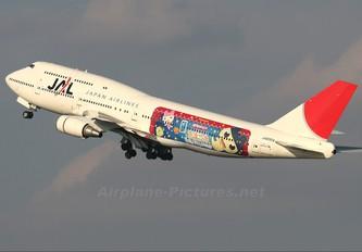 JA8904 - JAL - Japan Airlines Boeing 747-400