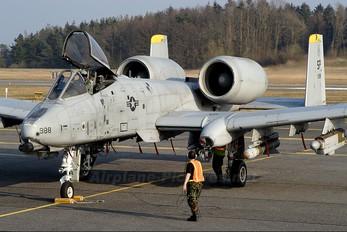 81-0988 - USA - Air Force Fairchild A-10 Thunderbolt II (all models)
