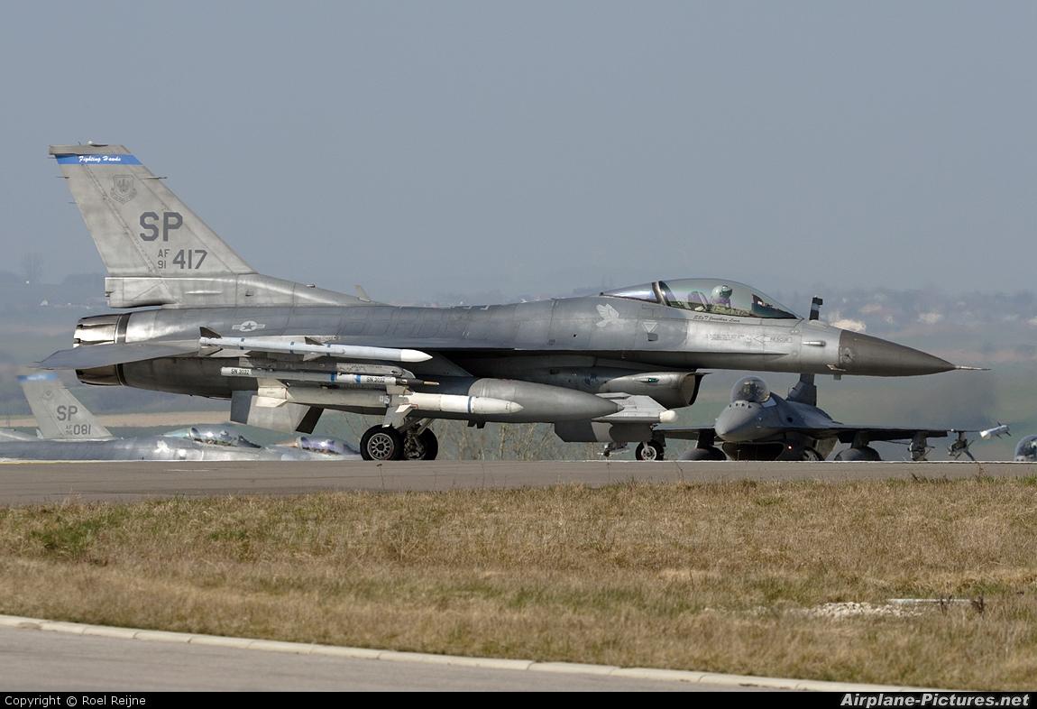 USA - Air Force 91-0417 aircraft at Spangdahlem