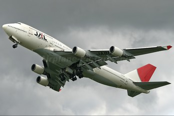 JA8079 - JAL - Japan Airlines Boeing 747-400