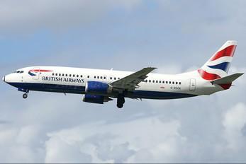 G-DOCA - British Airways Boeing 737-400