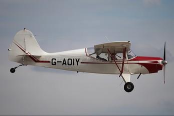 G-AOIY - Private Auster 5J1 Autocrat