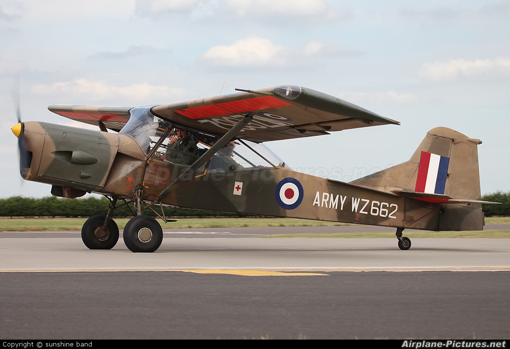 Private G-BKVK aircraft at Waddington