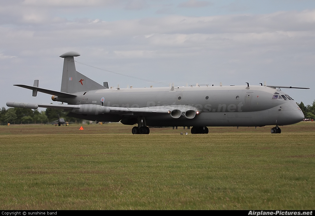 Royal Air Force XV249 aircraft at Waddington