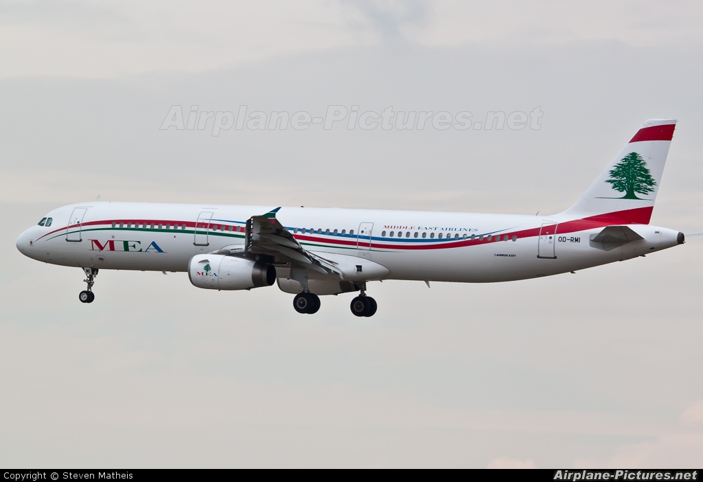 MEA - Middle East Airlines OD-RMI aircraft at Frankfurt