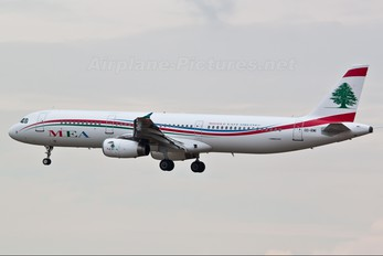 OD-RMI - MEA - Middle East Airlines Airbus A321