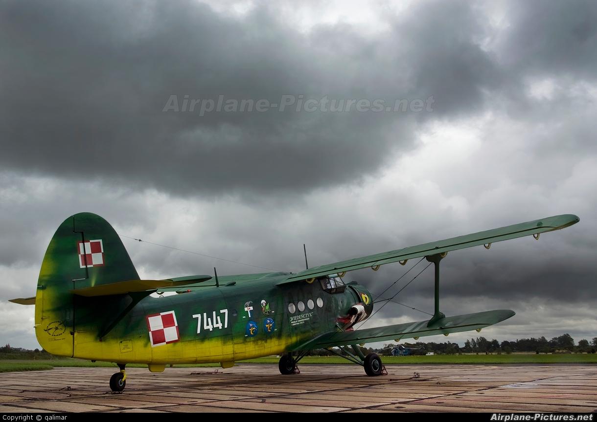 Poland - Air Force 7447 aircraft at Off Airport - Poland