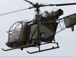 XR379 - UK - Army Historic Flight Sud Aviation SA-313 / 318 Alouette II (all models)