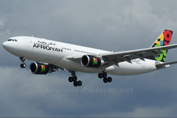 5A-ONH - Afriqiyah Airways Airbus A330-200