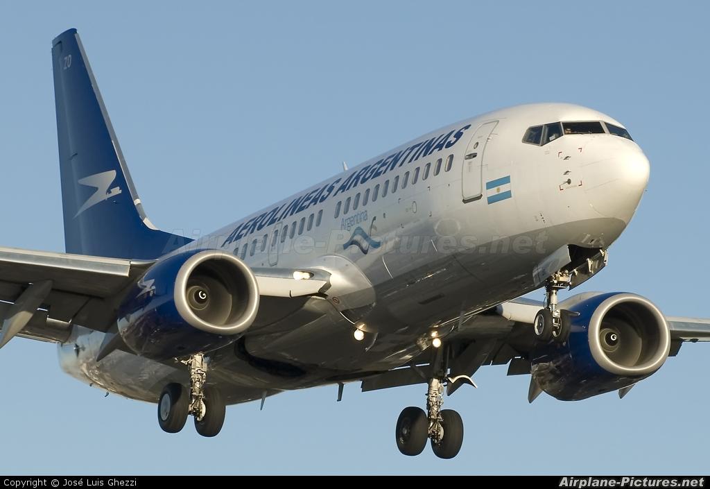 Aerolineas Argentinas LV-BZO aircraft at Buenos Aires - Jorge Newbery