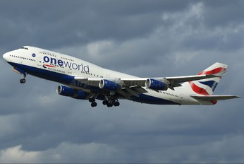 G-CIVP - British Airways Boeing 747-400