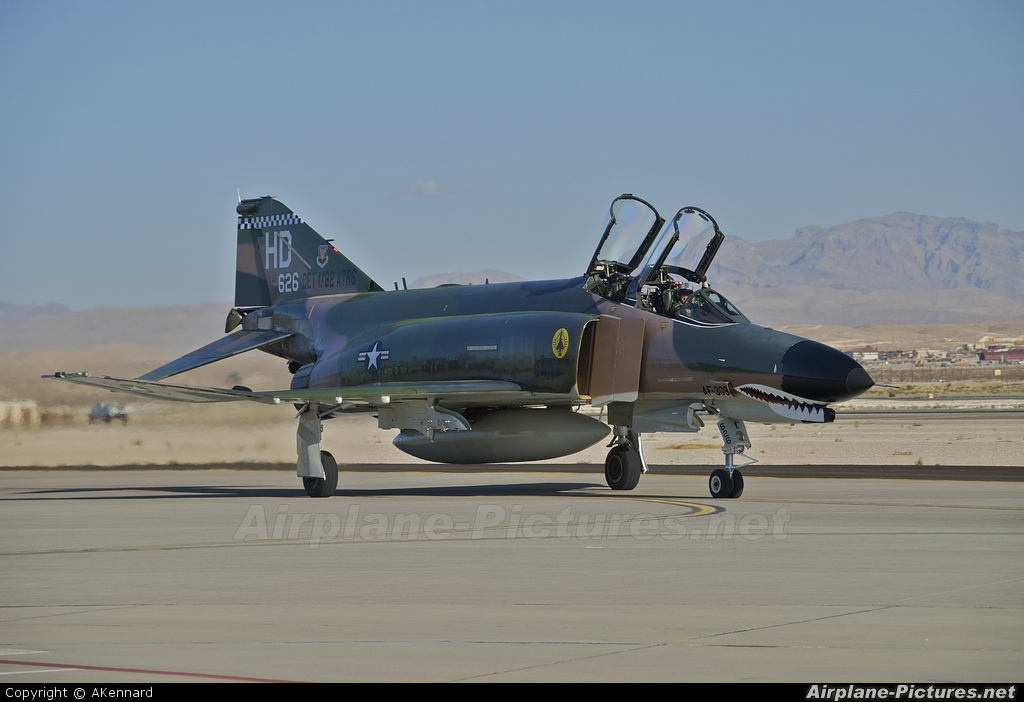 USA - Air Force 74-1626 aircraft at Nellis AFB