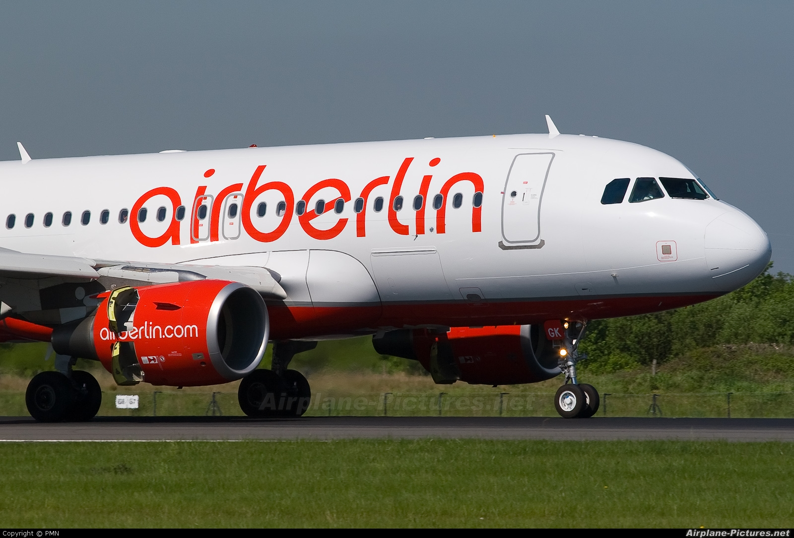 Air Berlin D-ABGK aircraft at Manchester