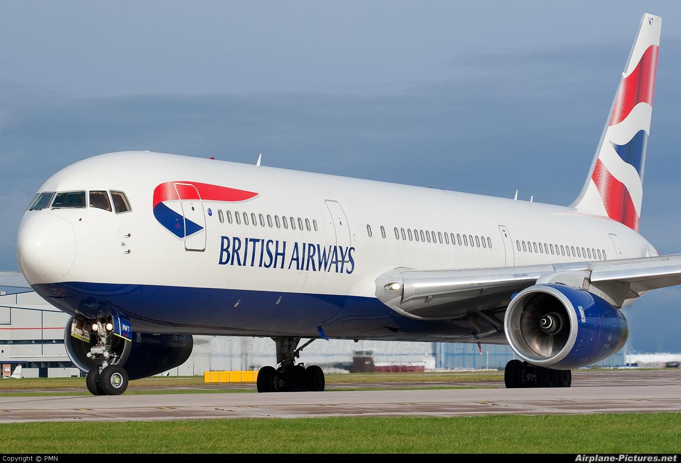 British Airways G-BNWT aircraft at Manchester