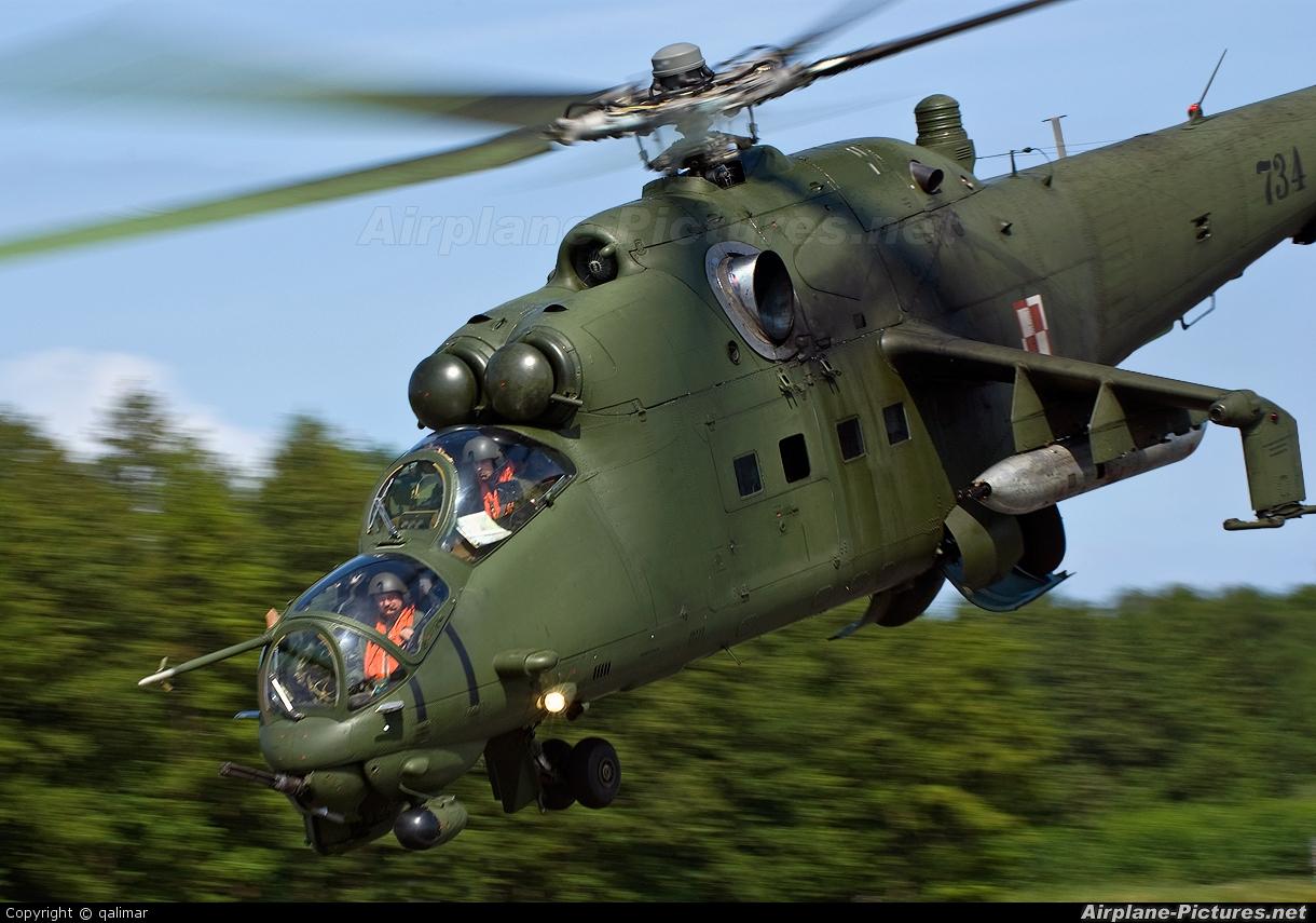 Poland - Army 734 aircraft at Off Airport - Poland