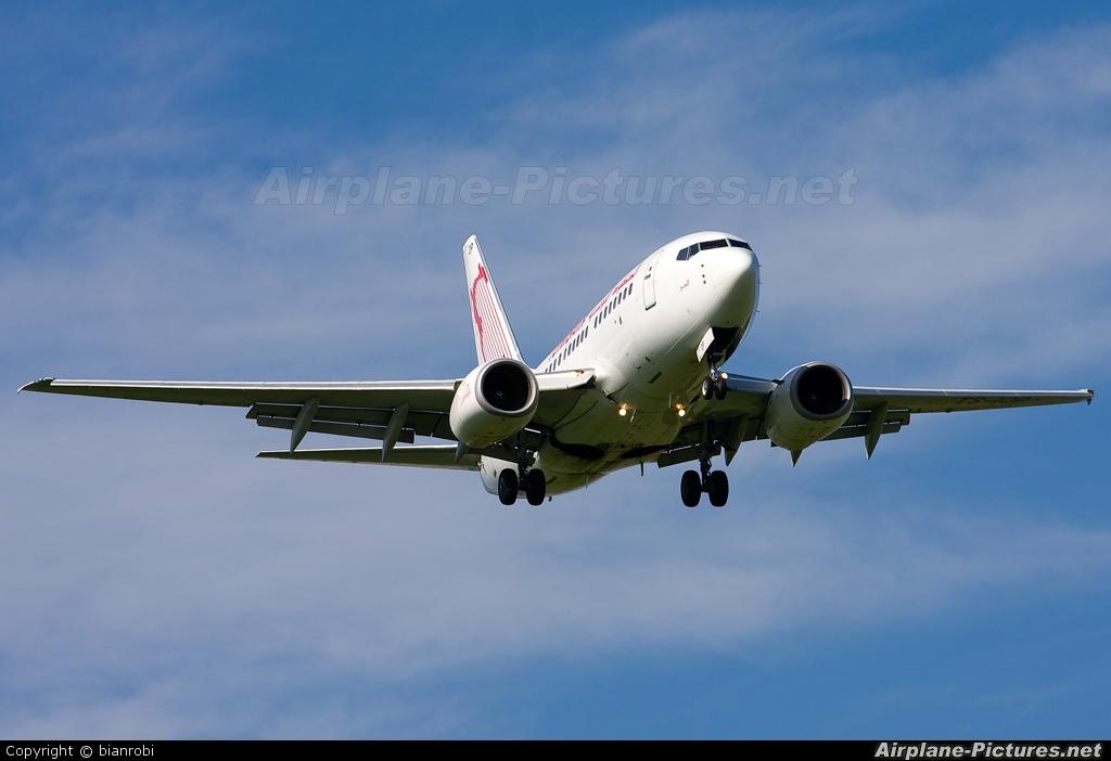 Tunisair TS-IOP aircraft at Verona - Villafranca