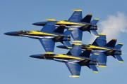 - - USA - Navy : Blue Angels McDonnell Douglas F/A-18A Hornet aircraft