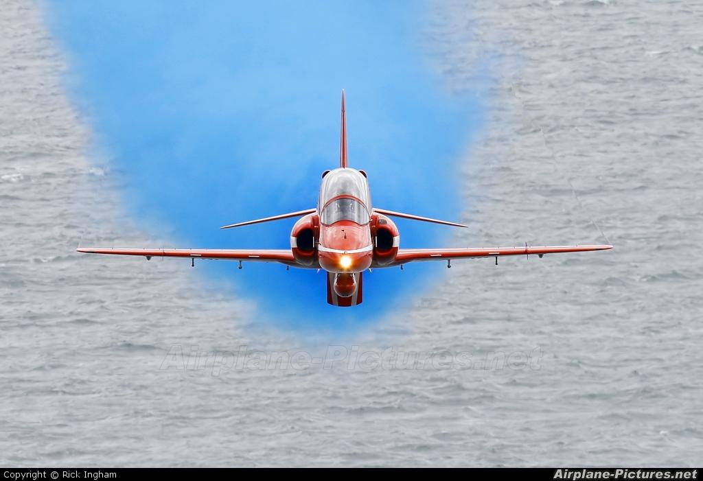 """Royal Air Force """"Red Arrows"""" - aircraft at Dawlish"""