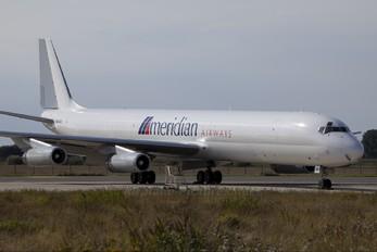 9G-AXA - Meridian Airways Douglas DC-8-63F