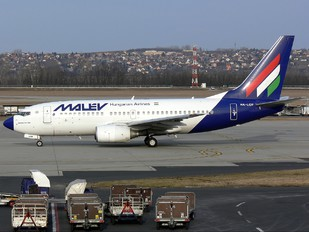 HA-LOP - Malev Boeing 737-700