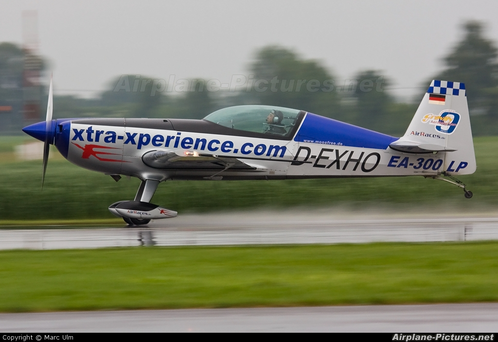 Private D-EXHO aircraft at Donauwörth - Genderkingen