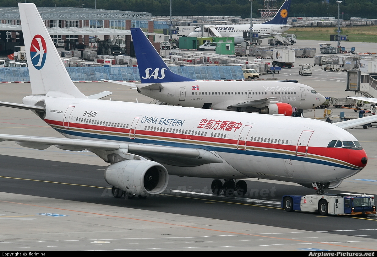 B 6121 china eastern airlines airbus a330 200 at - China eastern airlines sydney office ...