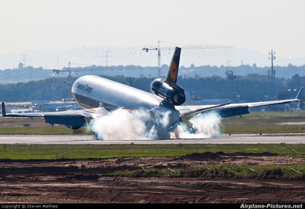 Lufthansa Cargo D-ALCN aircraft at Frankfurt