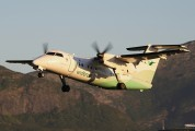 LN-WII - Widerøe de Havilland Canada DHC-8-100 Dash 8 aircraft