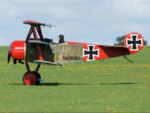 G-BVGZ - Private Fokker DR1 Triplane