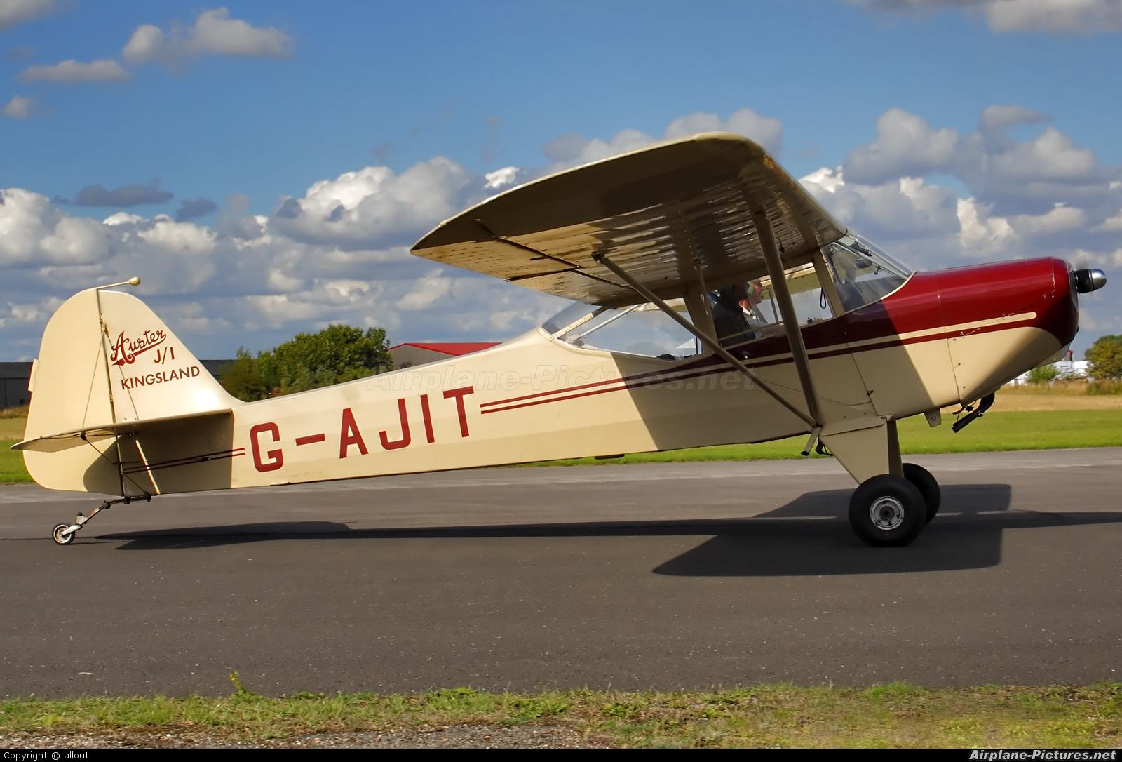 Private G-AJIT aircraft at Breighton