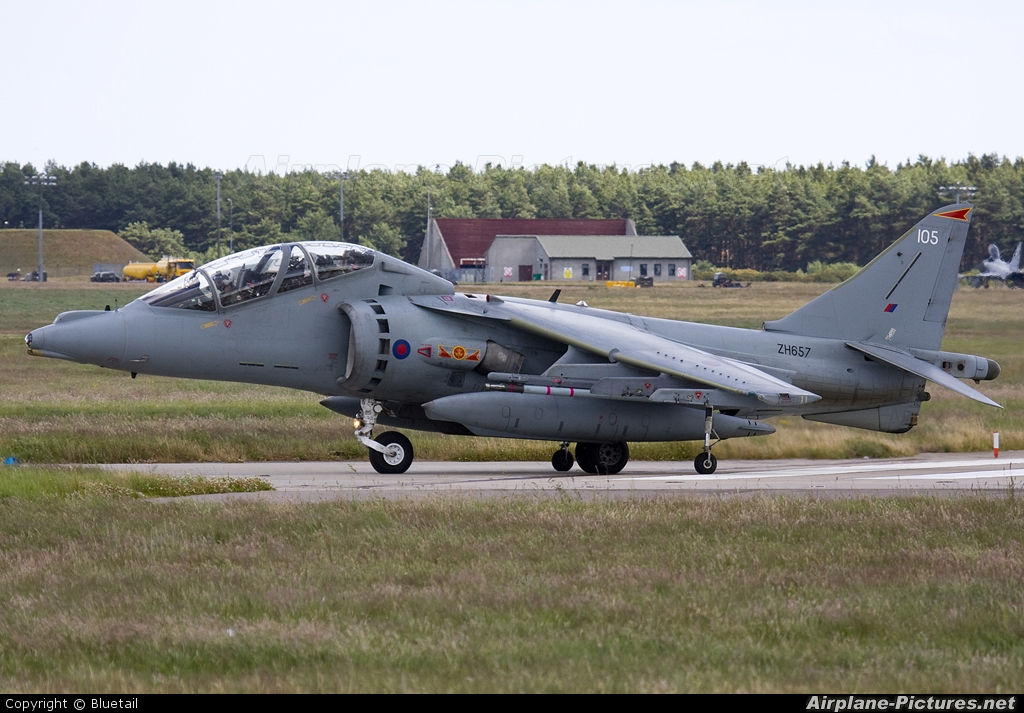 Royal Air Force ZH657 aircraft at Kinloss