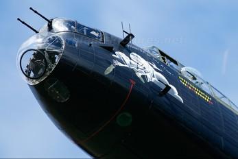 "PA474 - Royal Air Force ""Battle of Britain Memorial Flight&quot Avro 683 Lancaster B. I"
