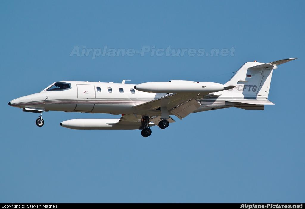 Quick Air Jet Charter D-CFTG aircraft at Frankfurt