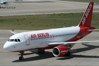 HB-IOY - Air Berlin - Belair Airbus A319