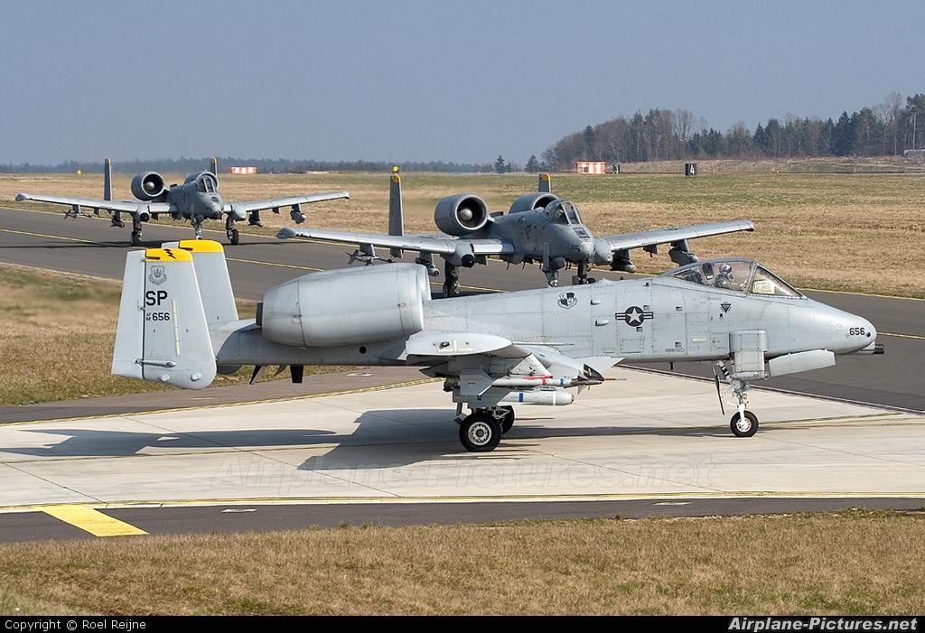 82-2656 - USA - Air Force Fairchild A-10 Thunderbolt II ...