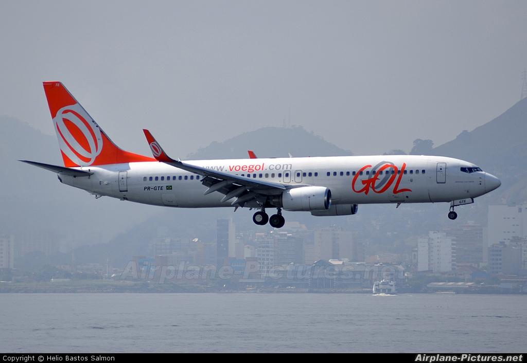 GOL Transportes Aéreos  PR-GTE aircraft at Rio de Janeiro - Santos Dumont
