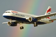 G-EUYH - British Airways Airbus A320 aircraft