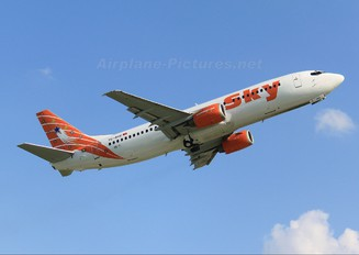 TC-SKE - Sky Airlines (Turkey) Boeing 737-400
