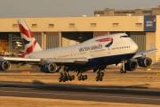 G-CIVM - British Airways Boeing 747-400 aircraft
