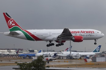 5Y-KQS - Kenya Airways Boeing 777-200ER