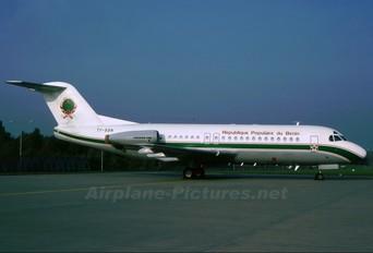 TY-BBN - Benin - Government Fokker F28