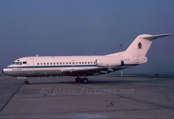 5H-CCM - Tanzania - Government Fokker F28